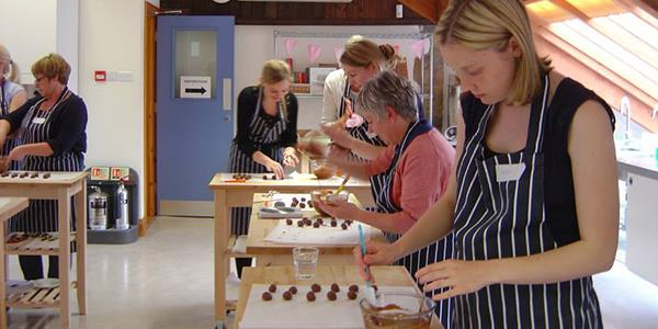 Learn how to make artisan chocolates