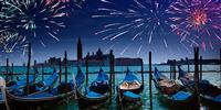 Festivals and fireworks in Italy