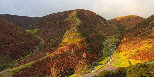 Long Mynd - a favourite with walkers