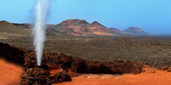 The Timanfaya Mountains National Park, Lanzarote