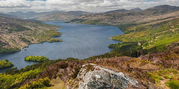 Loch Katrine - wildlife, water and walks in the Trossachs