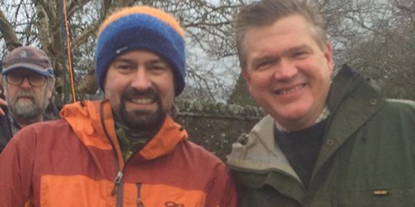 Neil meets Ray Mears