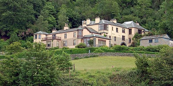 John Ruskin's Brantwood House in Coniston