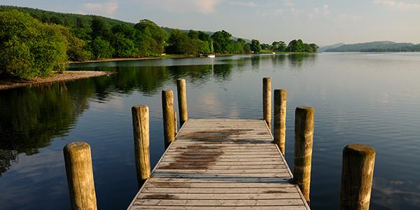 Dock in the Lake District