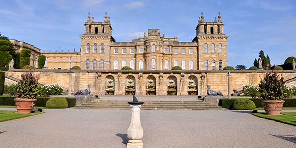 Blenheim Palace in the Cotswolds