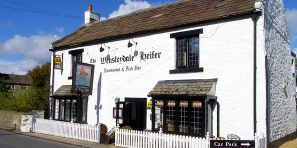 Dine in style at the Wensleydale Heifer