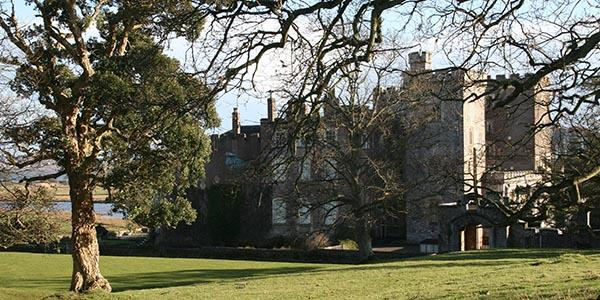 Powderham Castle in Devon's south coast