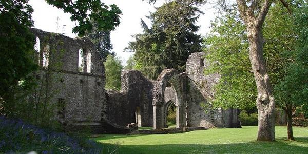 Inchmahome Priory, Trossachs National Park.