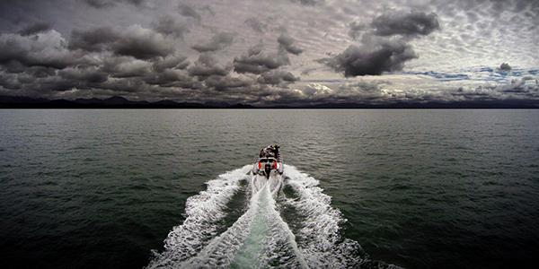 RIB Ride along the Menai Strait in Wales