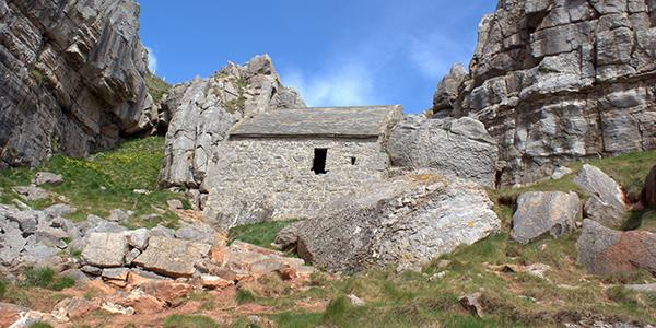 A secret chapel hidden in the rocks of Pembrokeshire