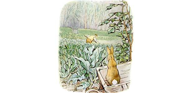 Beatrix Potter: Wikimedia Commons/Public Domain