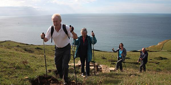 Nordic walking in Britain