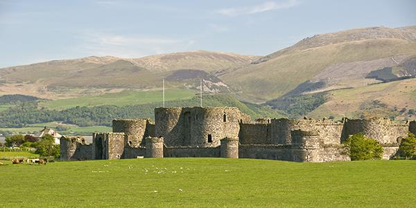 Beaumaris Castle, the Isle of Anglesey