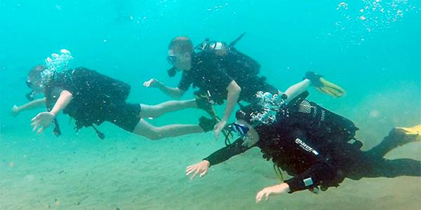 Learn to dive in Lanzarote