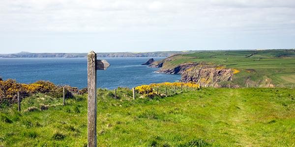 Walk Pembrokeshire Coast Path on Google Street View