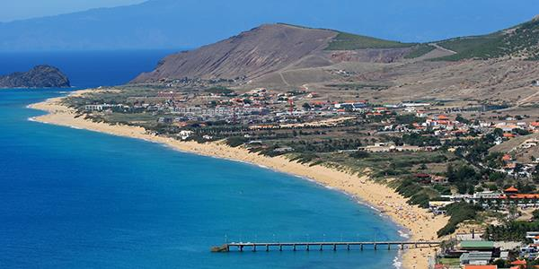 Get to the beach island of Porto Santo from Madeira