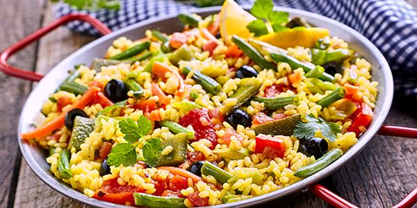 Where did paella come from?