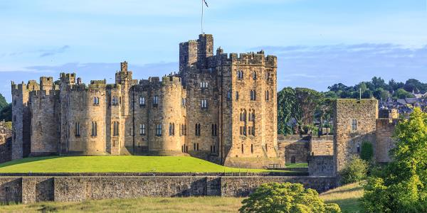 Alnwick Castle open air Harry Potter screening