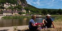Canoe down the Dordogne
