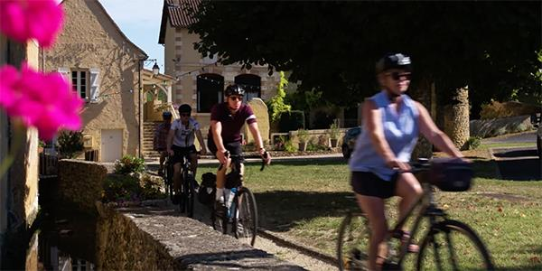 Cycling tours in the Dordogne