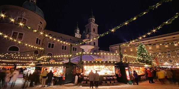 Salzburg's Christmas Market is one of the oldest in the world