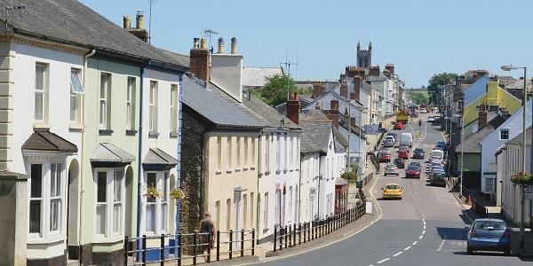 Honiton, Devon: for lace that's fit for a prince