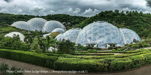 Lighting up the Eden Project