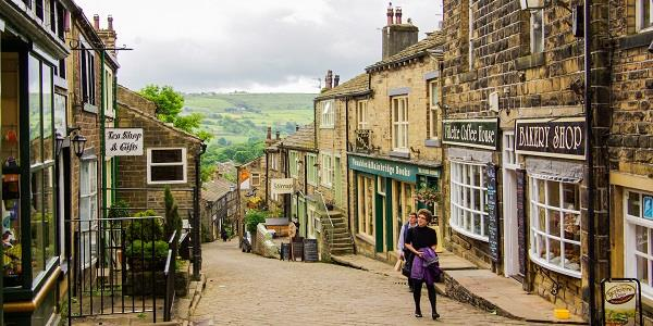 Haworth: literature, locomotives and retrofuturism
