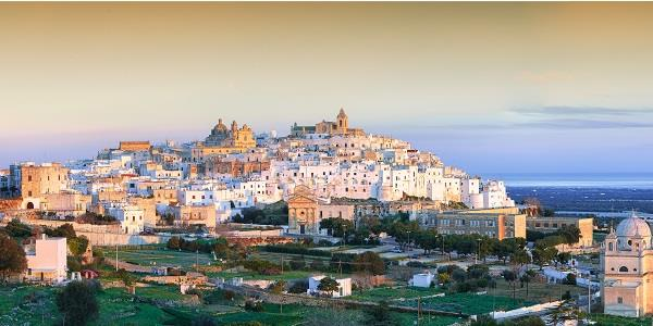 Be dazzled by Puglia's White City