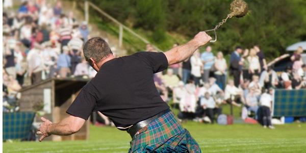 A healthy bit of competition at the Highland Games