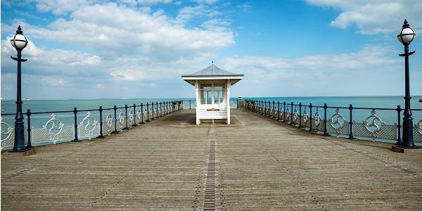 Explore the waters around Swanage Pier