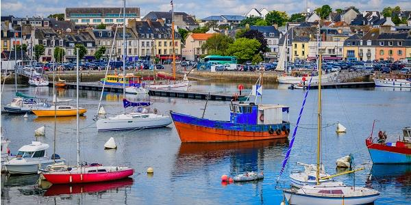 Spend a day by the sea in Concarneau