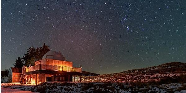 Look up: The Scottish Dark Sky Observatory