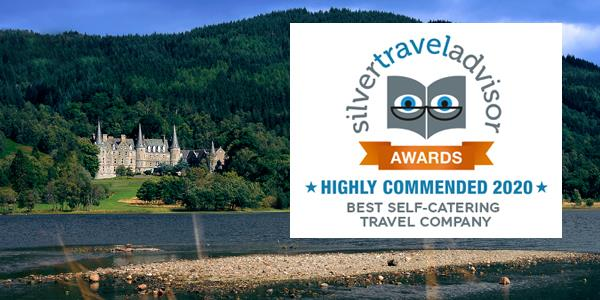 Holiday Property Bond highly commended in the category of Best Self-Catering Travel Company at the 2020 Silver Travel Awards
