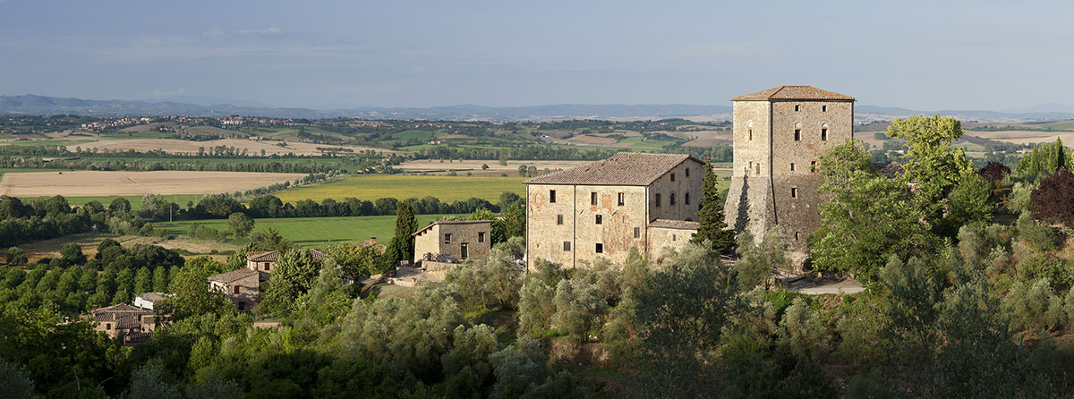 Stunning locations, facilities and properties - Including this medieval palazzo in Tuscany