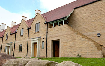 In 2016 Lucker Hall opens in Northumberland and starts welcoming guests