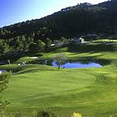 Play a game of golf at the tough but rewarding Camp de Mar 18 hole golf course