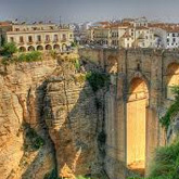 The famous Moorish tow of Ronda that bridges the 'El Tajo' gorge