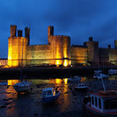 Visit the 13th century castle build by King Edward I in Caernarfon