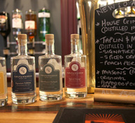 Selection of local gins