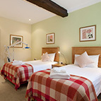 Beds in holiday cottage, Shropshire