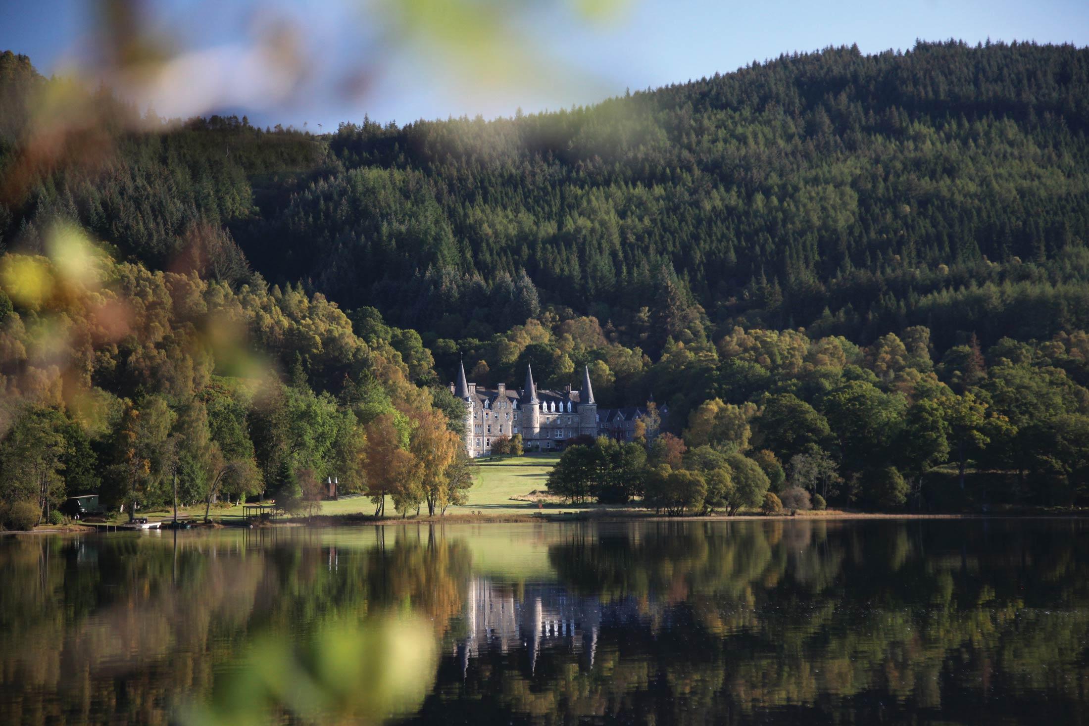 Trossachs Castle Image Gallery Tigh Mor Scotland